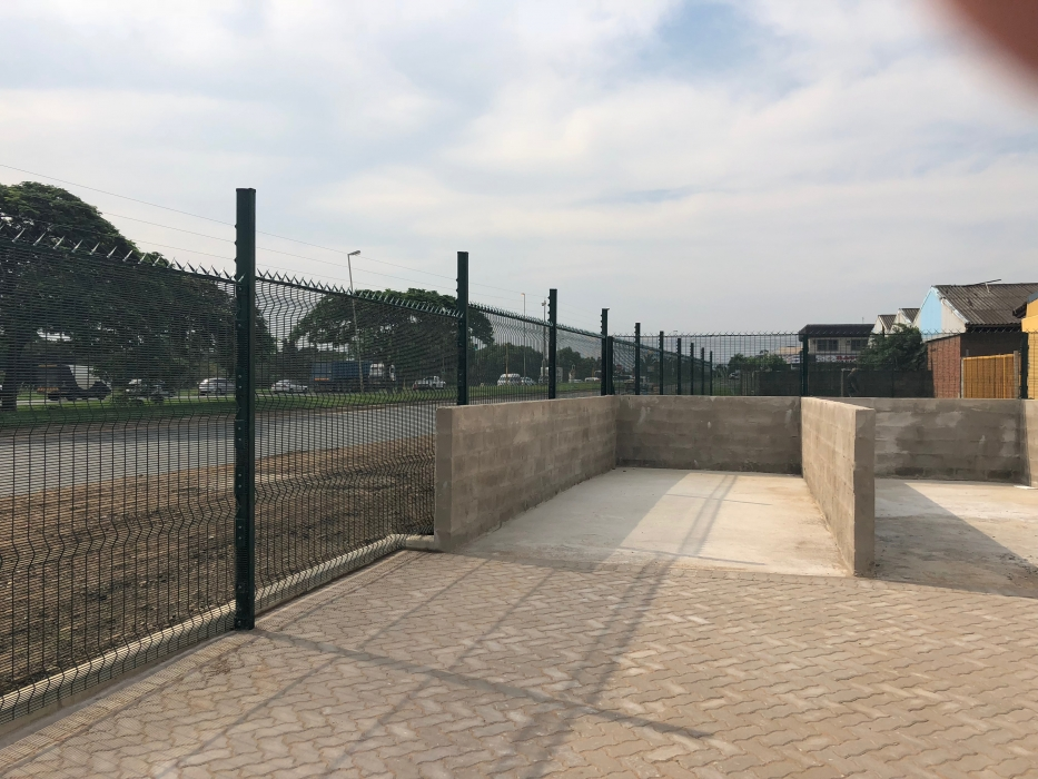ClearVu Fence installed by NumoBlox