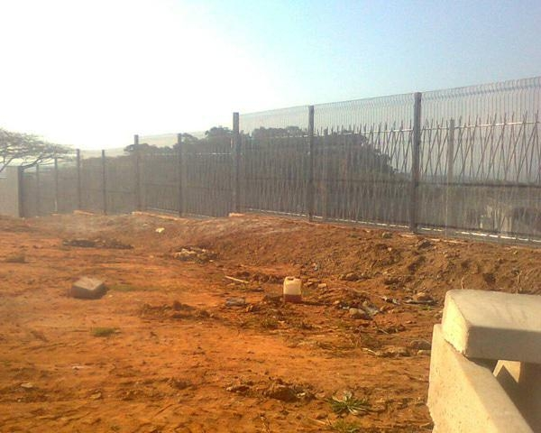 Clearvu Security Fence Double Layer 2.4m