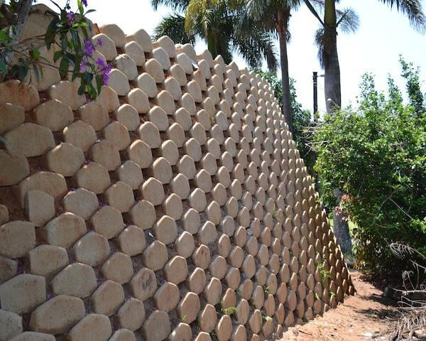 Retainer Wall 4m high