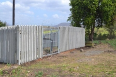 Concrete Palisade Fence 2meters high