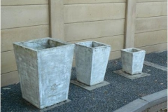 Concrete Pot Square Cylinder