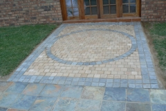 Cobble Paving packed in Custom Design