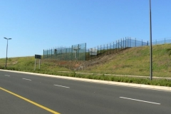 Clearvu-Fence-with-Razor-Wire-and-Gates-King-Shaka_International_Airport