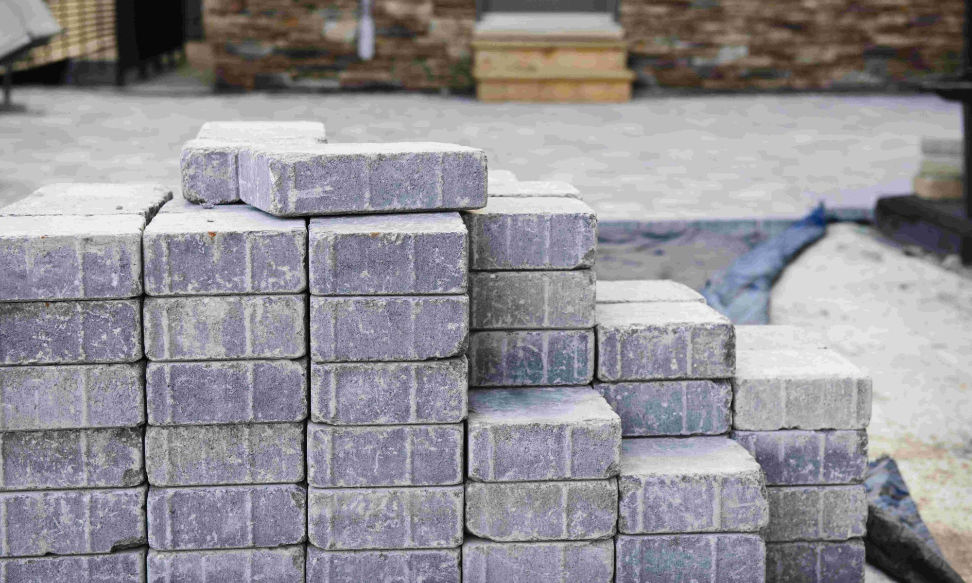 Cobble stones for paving and home improvement